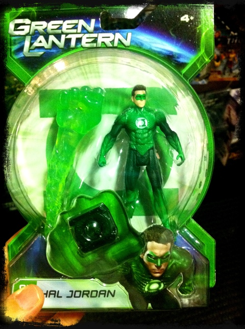 Figura de Ação do Lanterna Verde (com anel!!)