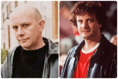 Nick Hornby e Colin Firth
