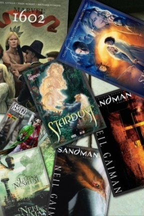 As obras de Neil Gaiman