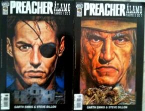 As últimas edições avulsas de Preacher publicadas...