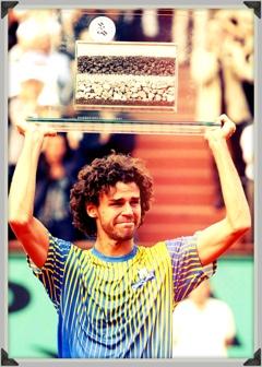Gustavo Kuerten em Roland Garros