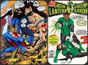 A morte do Superman / O novo Lanterna Verde