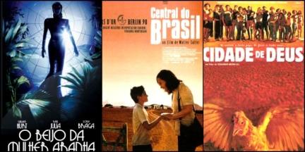 O Beijo da Mulher Aranha, Central do Brasil e Cidade de Deus