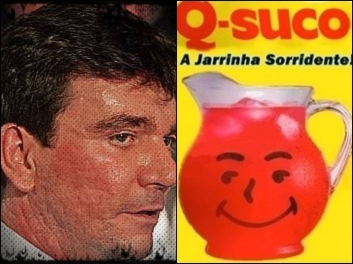 Andres Sanches e Q-Suco