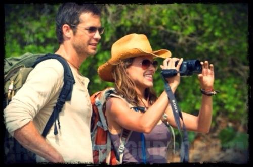 Timothy Olyphant e Kiele Sanchez