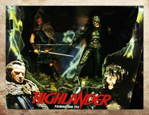 Highlander Medieval Box Set NECA
