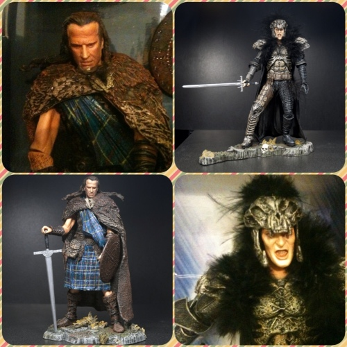 Highlander Medieval Box Set NECA - Kurgan X MacLeod
