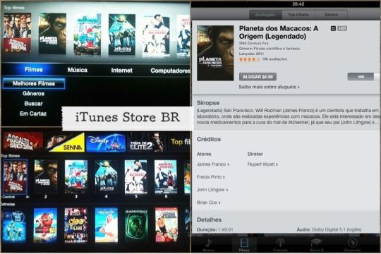iTunes Store BR