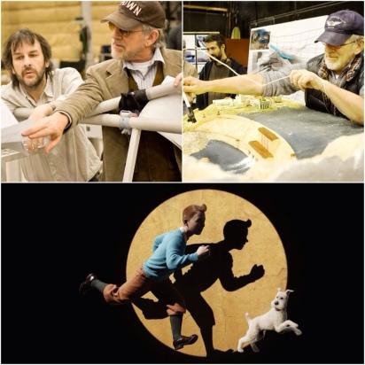 Spielberg, Jackson, Tintim e Milu