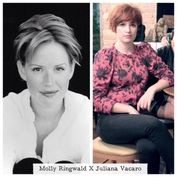 Molly Ringwald X Juliana Vacaro