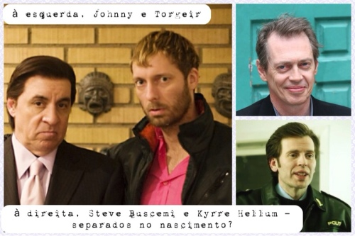 Steve, Trond, Steve e Kyrre