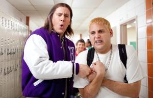 Schmidt e Jenko na escola