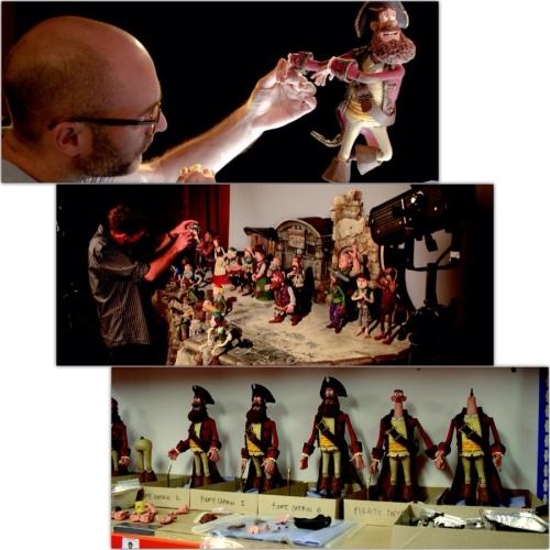 Piratas Pirados!, uma produção da Aardman