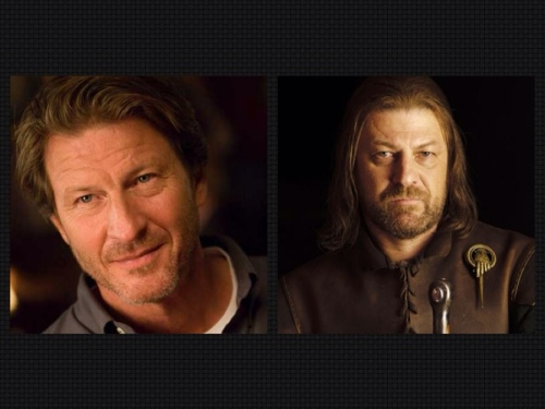 Brett Cullen (o congressista de Gotham City) / Sean Bean (o Eddard Stark de Game of Thrones)