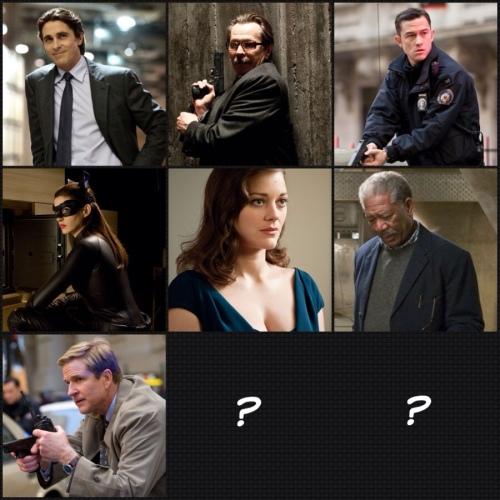 O grandioso elenco de The Dark Knight Rises