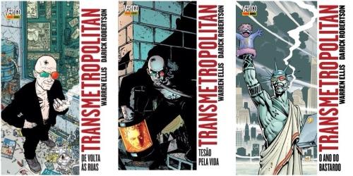 Transmetropolitan - Warren Ellis & Darick Robertson