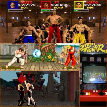 Pit Fighter, Street Fighter 2, Mortal Kombat