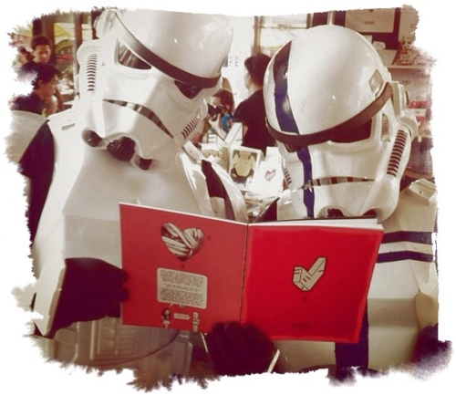 Stormtroopers também choram