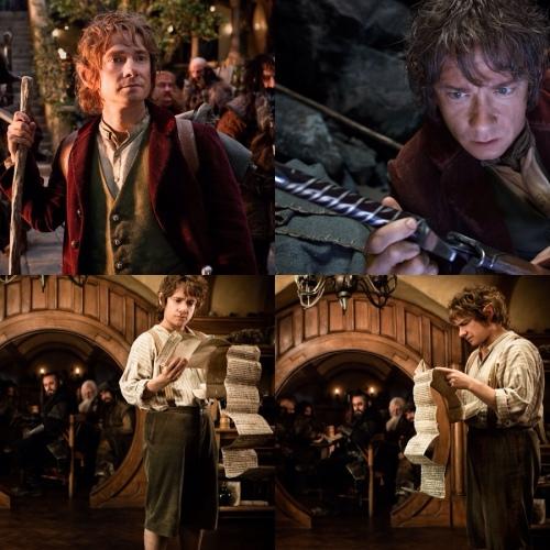 Martin Freeman é O Hobbit