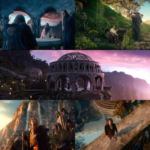 As paisagens de O Hobbit