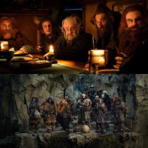 Os anões d'O Hobbit