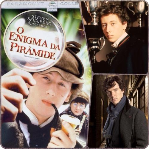 O Enigma da Pirâmide vs. Sherlock