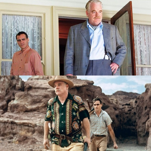 Joaquin Phoenix & Philip Seymour Hoffman
