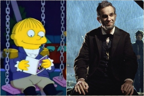 Wiggum e Day-Lewis: os grandes atores de suas respectivas gerações