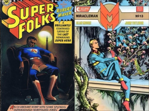 Superfolks versus Miracleman