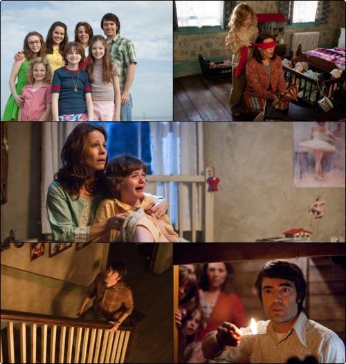 A família Perron (Ron Livingston e Lili Taylor em destaque)