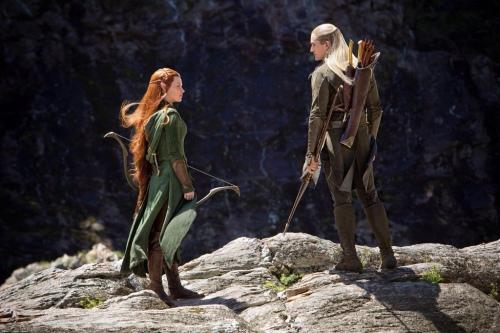 Tauriel e Legolas