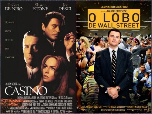 Cassino X O Lobo de Wall Street